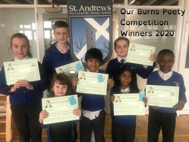Burns Winners 2020