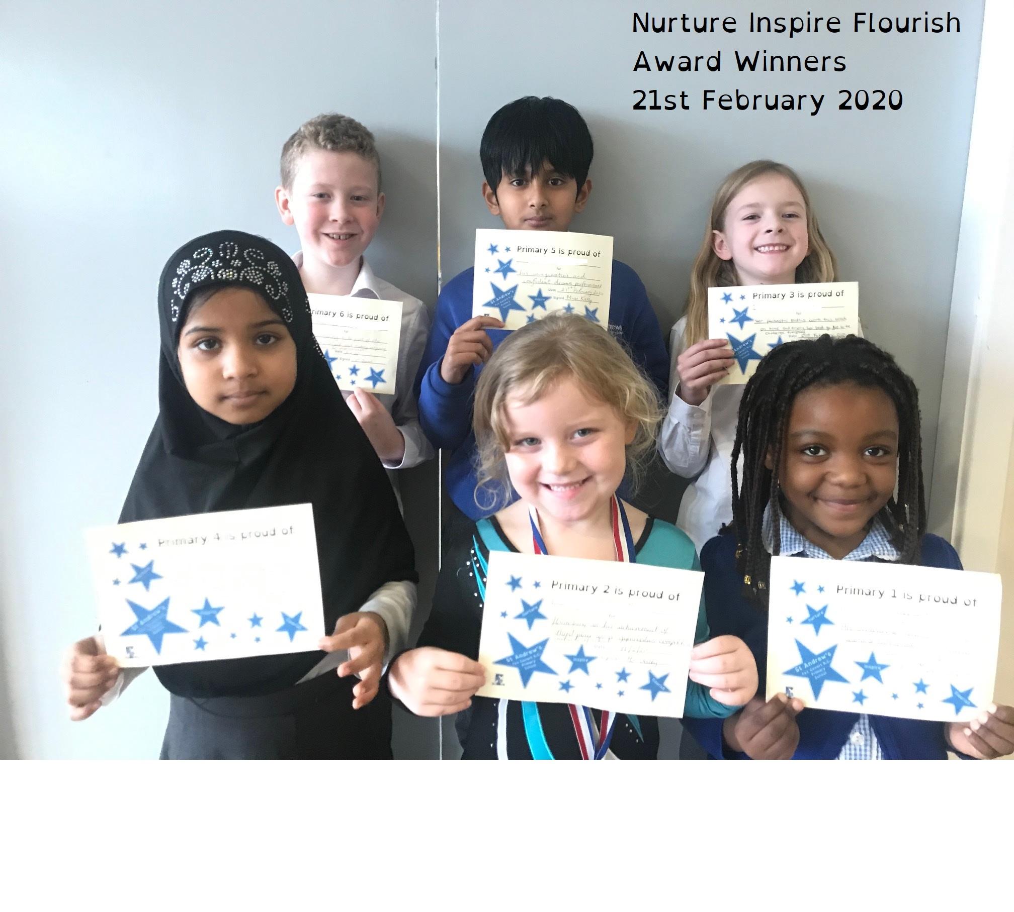 NIF Award 21 Feb 20